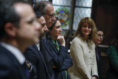 Tue, 19/11/2019 - 21:02 - Barcelona 19.11.2019  Sopar d'alcaldes al Saló de Cent. Foto Laura Guerrero/Ajuntament de Bcn.