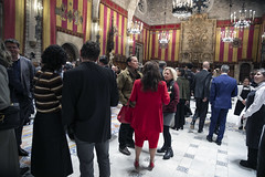 Tue, 19/11/2019 - 20:47 - Barcelona 19.11.2019  Sopar d'alcaldes al Saló de Cent. Foto Laura Guerrero/Ajuntament de Bcn.