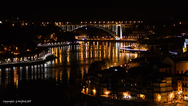 Night Time View across the Douro