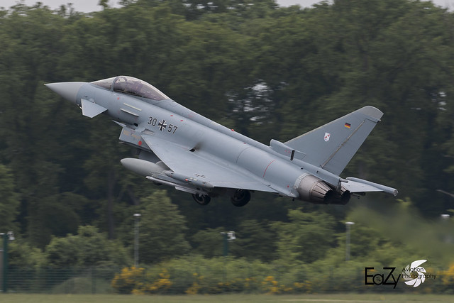 30+57 German Air Force (Luftwaffe) Eurofighter Typhoon