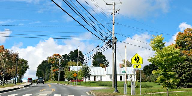 on the road - danville - vermont