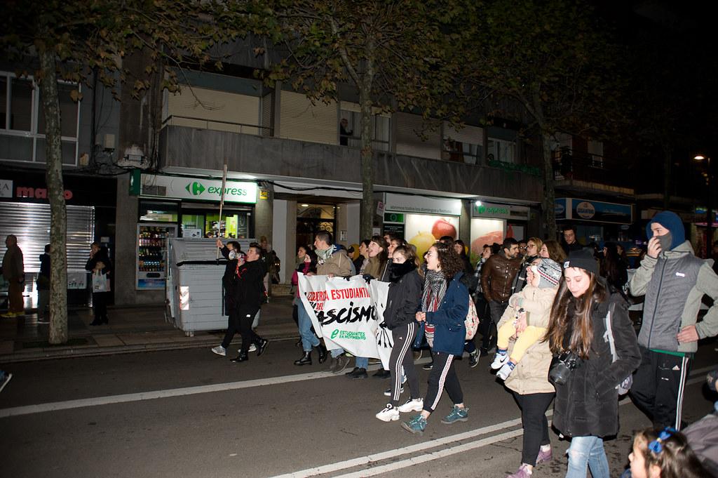 Manifestación antifascista.  (12)