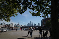 Southbank London, September 2019