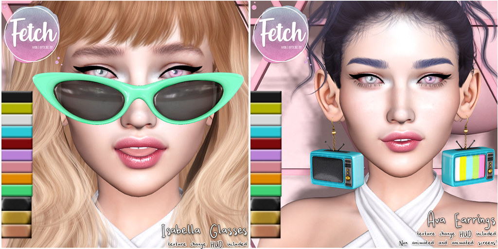 [Fetch] Isabella Glasses & Ava Earrings @ n21!
