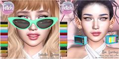 [Fetch] Isabella Glasses & Ava Earrings @ n21!