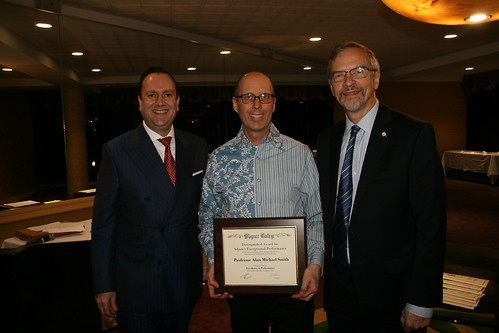 Alan Michael Smith, 2019 Distinguished Adjunct Award