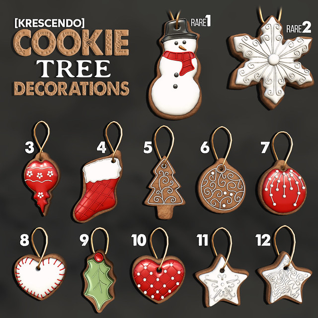 [Kres] Cookie Tree Decorations