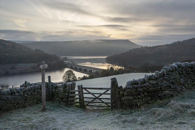 Ladybower on a frosty November morning
