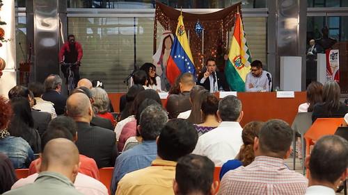 Cancillería realiza foro golpe de Estado y operación contra Bolivia
