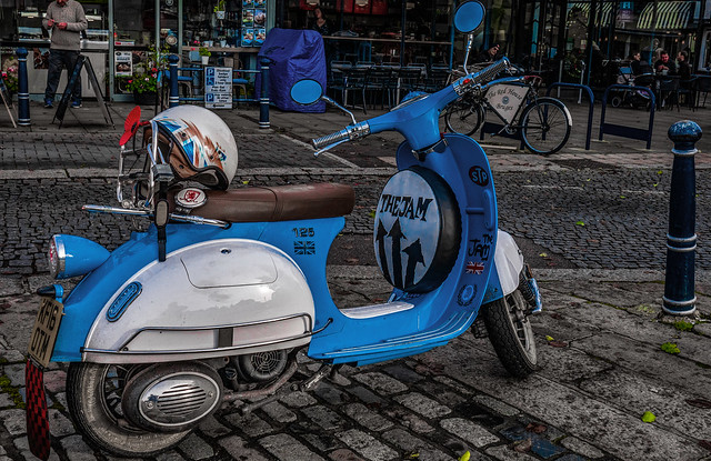 Mod Scooter: Hitchin Hertfordshire