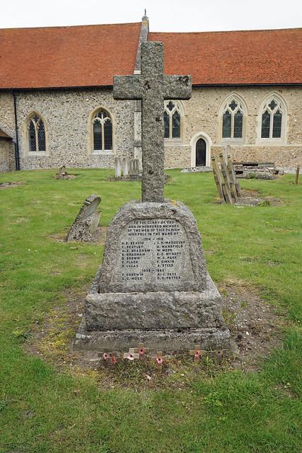 War Memorial, West Wickham, Cambridgeshire