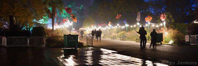 Lit Park Path