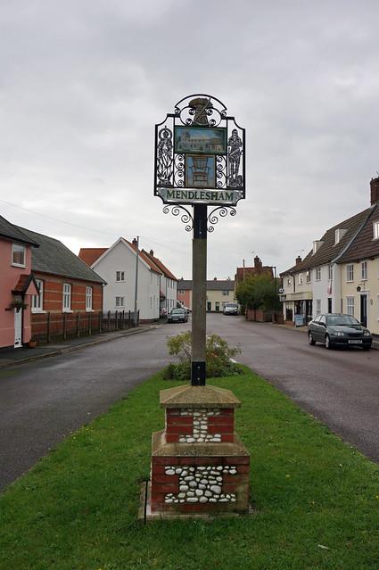 Village Sign, Mendlesham, Suffolk