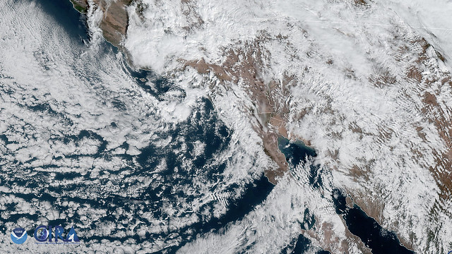 Storm System from the Pacific Ocean Brings Rough Weather to Southern Arizona
