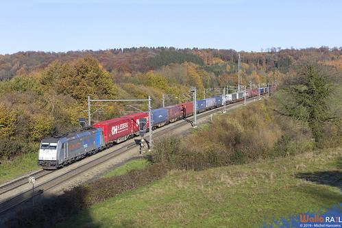 186 423 . RTB Cargo . E 42540 . Gemmenich . 20.11.19.