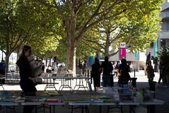 Southbank book market, September 2019