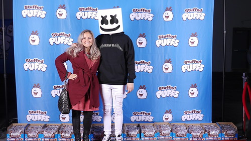 Stuffed Puffs Launches New Chocolate-Stuffed Marshmallow with DJ Marshmello Event