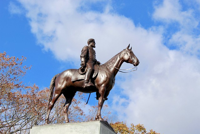 General Robert E. Lee Mounted on