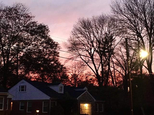pretty November sky