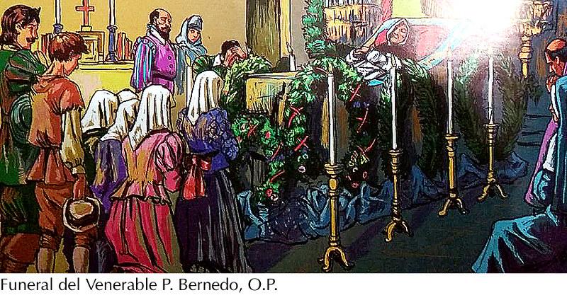 Muerte del Ven. Vicente Bernedo, O.P.