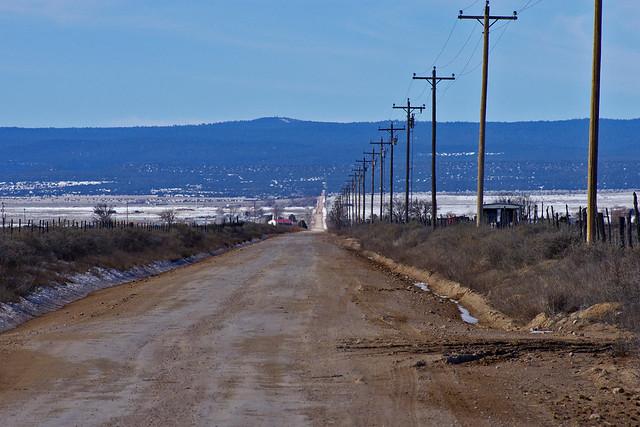 Estancia Valley, New Mexico, USA.