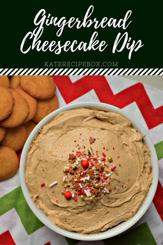 Gingerbread Cheesecake Dip