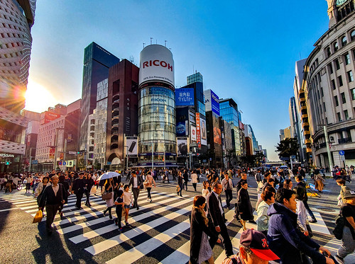 tokyo tokyoprefecture japan ginza ginzacrossing ricoh nissancrossing