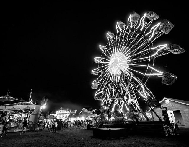 Black & White on the Midway