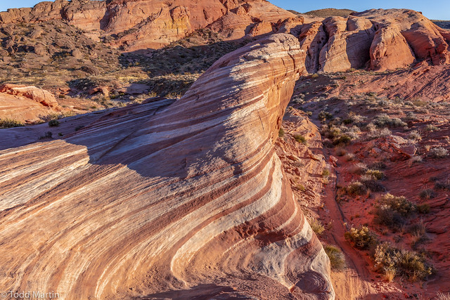 The Fire Wave - Valley of Fire State Park, Nevada.