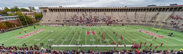 Harvard stadium panorama