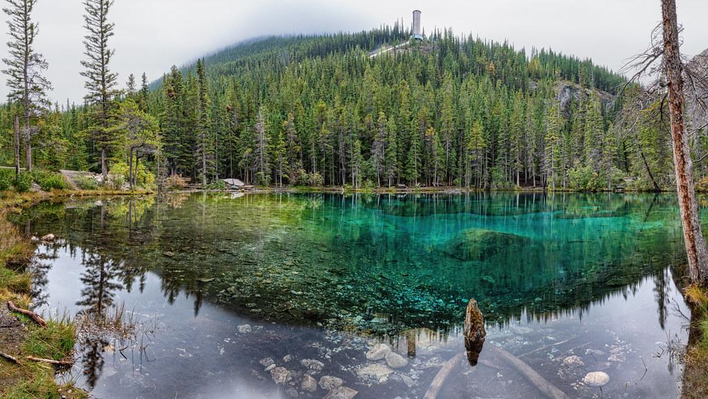 Grassi Lakes Panorama
