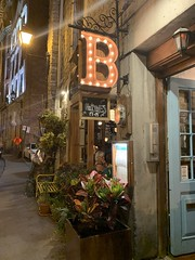 Restaurant Barroco on Rue Saint-Paul in Old Montreal