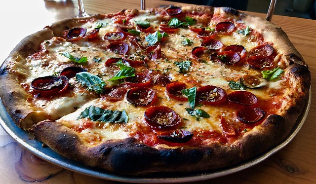 Zoe pepperoni pizza