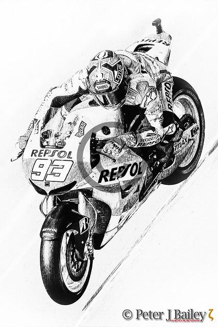 Marc Marquez #93 Repsol Honda 2019 MotoGP World Champion