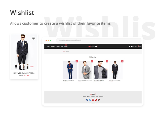 Nc-facade Free Shopify Theme Fashion
