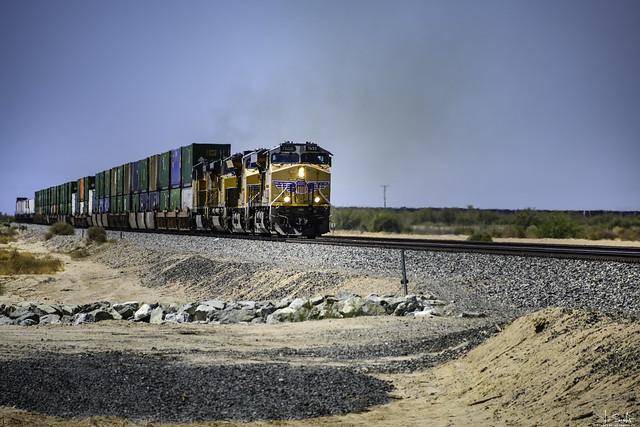 Train 7655 on the way - California - USA