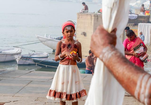Fenêtre sur le Gange..India