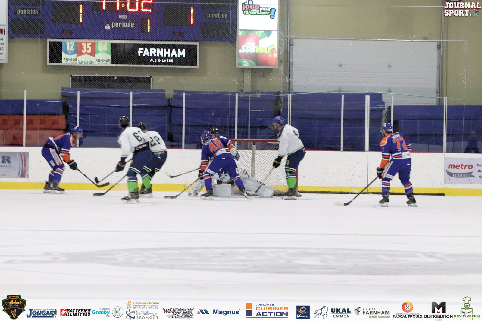 16 novembre | Waterloo vs Farnham
