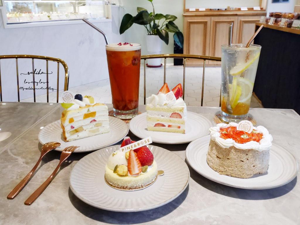 台北東門站永康街麗水街好吃蛋糕松薇食品ig甜點PINEROSE