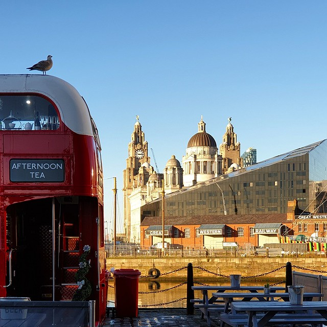 The 3 Graces Liverpool Sky Line
