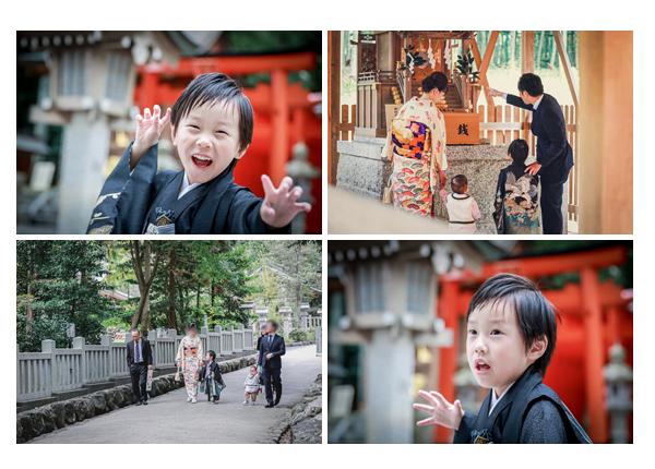 七五三 針名神社でロケーションフォト 名古屋市天白区