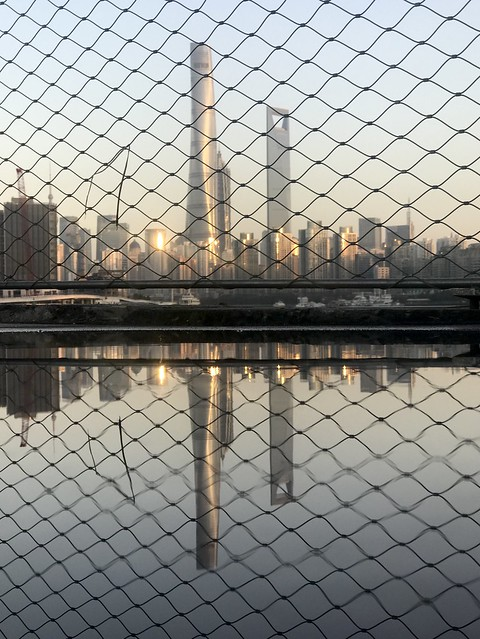 Pudong through the grid