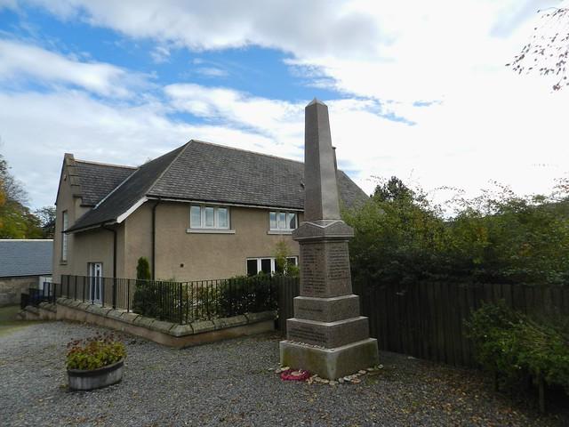 Strachan War Memorial, Strachan, Aberdeenshire, Oct 2019