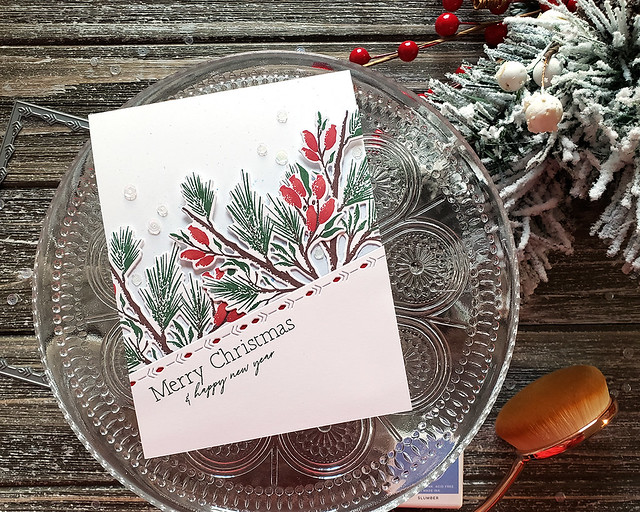 LizzieJones_TheGreetery_November2019_WinterSketches_MerryChristmasCard