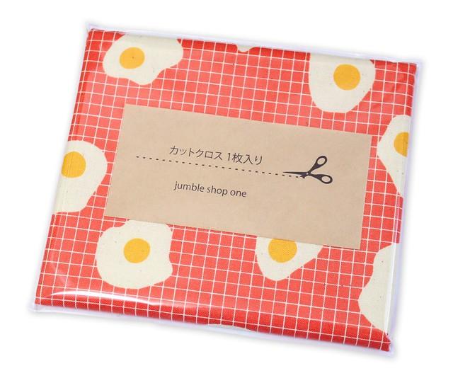 カットクロス COTTON+STEEL Welsummer 3062-02 Fried Eggs Sweet Orange