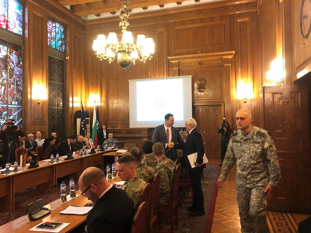 Brigadier General Meyeraan Participates at the 20th U.S.-Bulgaria Joint Commission