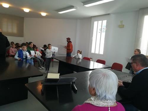 S. 3. RUEDA de prensa en Ayuntamiento de Canillas de Albaida