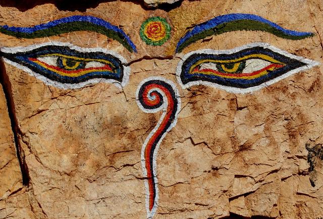 Eyes Of The Buddha