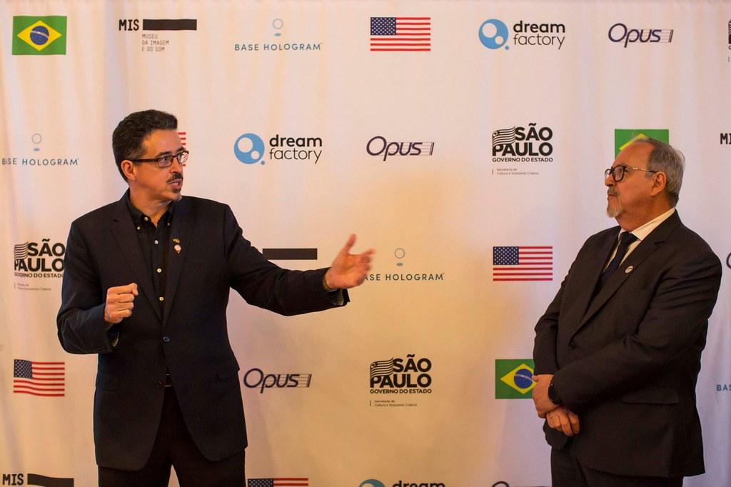 Assinatura do acordo do Governo de São Paulo, MIS e Base Entertainment