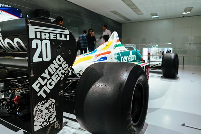 1983 – Benetton BMW Formula 1 car